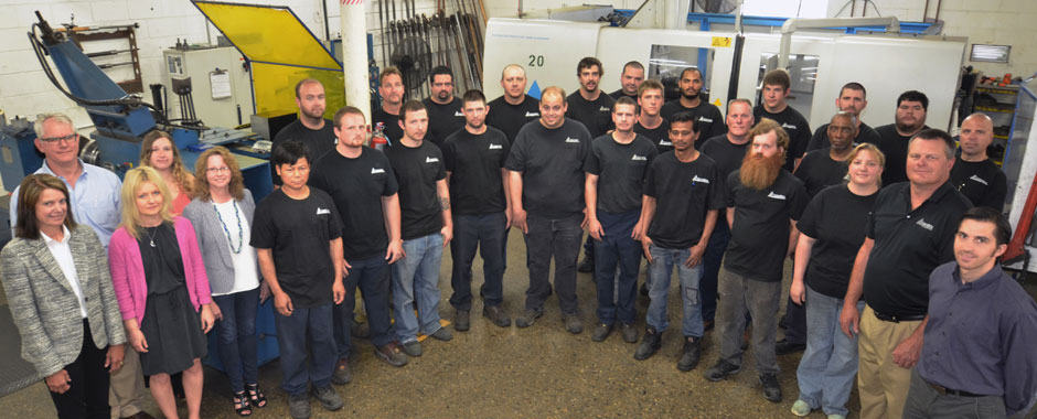 Contract Manufacturing Capabilities - Photo of Church Metal Employees