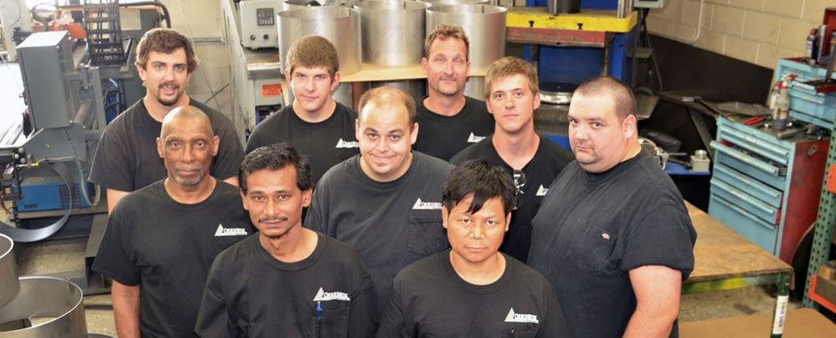 Assembly and Fabrication - Image of Weld and Fabrication Department Employees