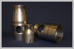 Image of one of Church Metal's spun parts